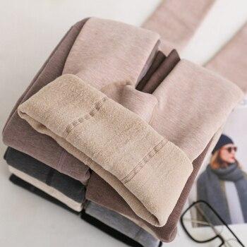 Pantimedias de Cachemira gruesa cálidas para dama, pantimedias para dama, de cintura alta, ajustadas, 1200D de pie completo
