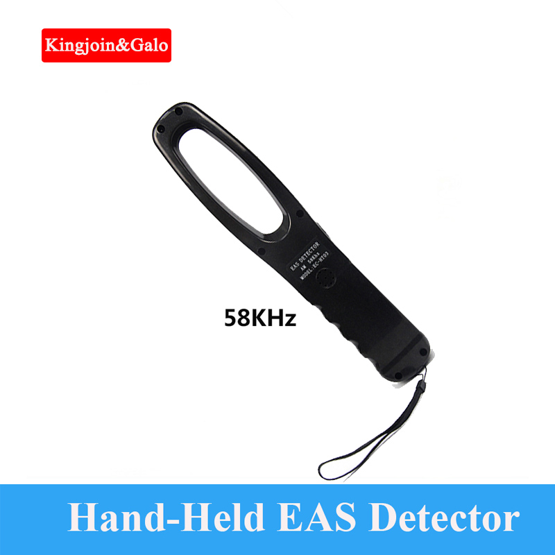 AM Security Tag Detector 58KHz Test Side AM Hand-Held EAS Detector Hard Tag Detector Using In Supermarket Subway Security Tester