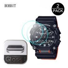 2Pcs 9H Tempered Glass Screen Protector For Casio G-SHOCK GA900 GA-900A GA-900C GA-900E SmartWatch Anti-Scratch Protective Glass