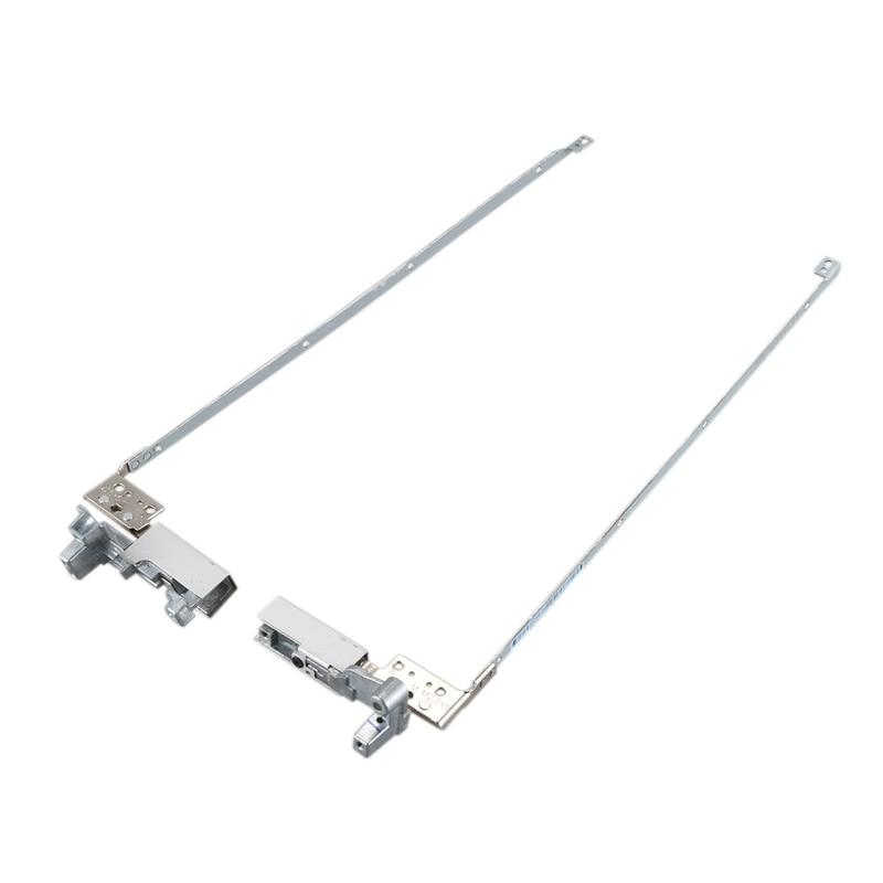 LCD Hinges For HP EliteBook 8540P 8540W 8540 Notebook LCD Screen Display Left & Right Hinges Steel Brackets Set