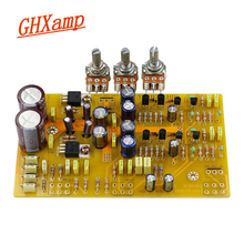 GHXAMP HIFI Tone Preamplifier Board Fully Discrete LM317/337 Treble Low Frequency Adjust For UK NAD3020 Amp Pre AMPS