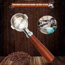 51&54mm Coffeeware Filter Basket Coffee Bottomless Portafilter Tamper for Espresso Moffee Machine for Barista Coffee Accessories