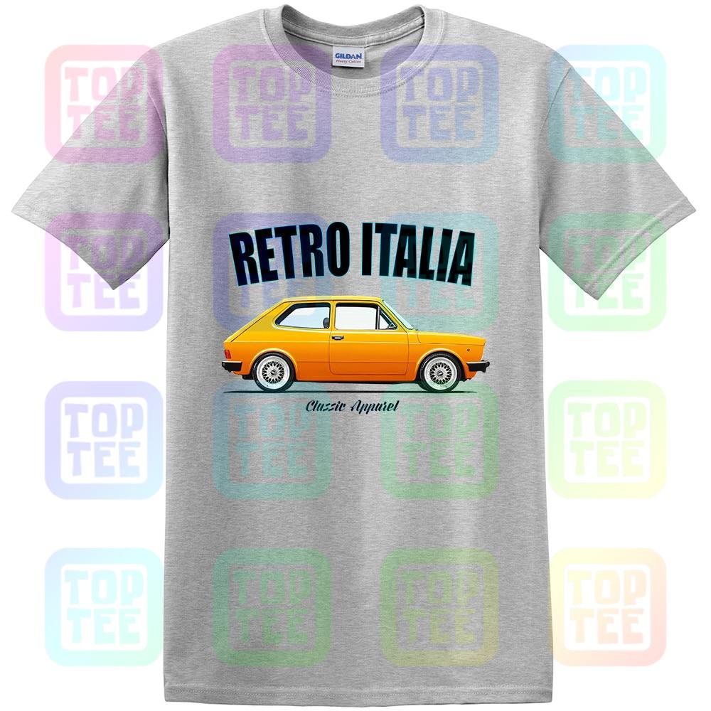 ABARTH RETRO ITALIA CLASSIC CAR FIAT 127 SERIES 2 t-shirt MODIFIED.