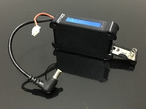 Image 4 - Чехол для литий ионной батареи 7,4 В 18650 DC5.5 * 2,5 для FATSHARK FPV Goggles, видео гарнитура без батареи RC Drone