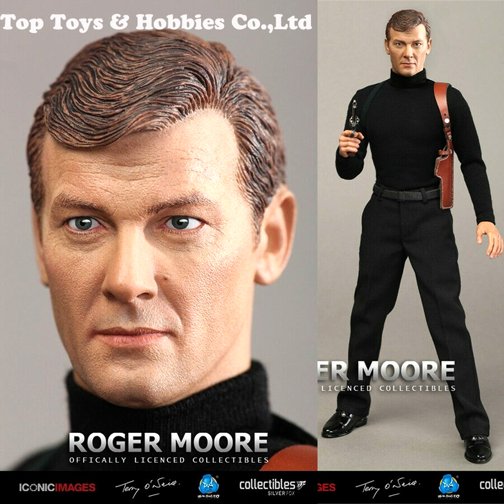 DID Roger Moore Box Figure RM001 James Bond 1//6 Action Figure Toys