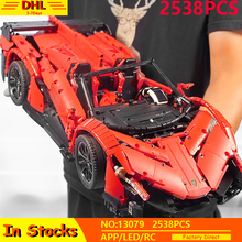 Technic series Remote Control Car Veneno Roadster Lamborghinis RC Car The MOC-10559 Fit Lepining Building Blocks Bricks Kid Toys moc technic series fd35 rx7 remote control vehicle rc car redsuns model kit building blocks bricks c61023 for kids toys gifts