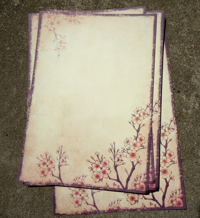 Sui Yue Fang Ancient Chinese-style Retro Writing Paper Plum Branches