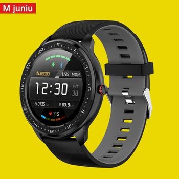 Z06 Men Smart Watch 1.3 inch Bluetooth Heart Rate Monitor Fitness Tracker Sports Smartwatch for double eleven soat