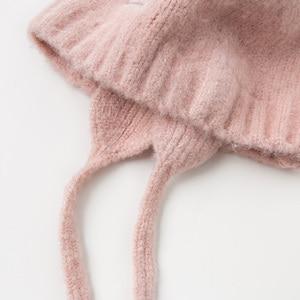 Image 5 - DB11792 dave bella jesienno zimowa dziewczynka żakardowa bawełna wełniana czapka
