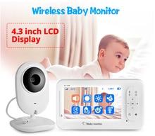 IMPORX 4.3 inch Wireless Video Baby Monitor Camera Two-way Talkback Nanny Camera Babysitter Night Vision Temperature Detection все цены