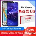 Оригинальный сменный дисплей 6,3 дюйма для Huawei Mate 20 Lite, ЖК-дисплей, сенсорный экран, дигитайзер в сборе для Mate20 Lite, ЖК-панель