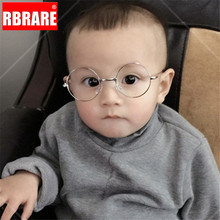 RBRARE Round Sunglasses for Kids Spectacles Glasses Frames E