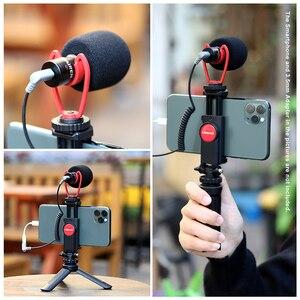Image 2 - Ulanzi ST 06 調整可能な携帯電話ホルダーと 1/4 ネジホットシューマウントクイックリリース Vlog ビデオ撮影一眼レフカメラ用スマート電話