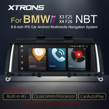 XTRONS 8.8 ''Qualcomm Snapdragon Bluetooth 5.0 Android 10.0 Originale Auto Radio Player GPS 4G Per BMW X3 F25 x4 F26 NBT Sistema(China)