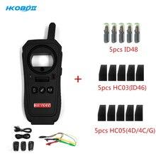 Chaveiro hkobdii KD X2 kd x2, gerador remoto/leitor de chip/frequência melhor que kd900 ur200 kd mini suporte atualização on line