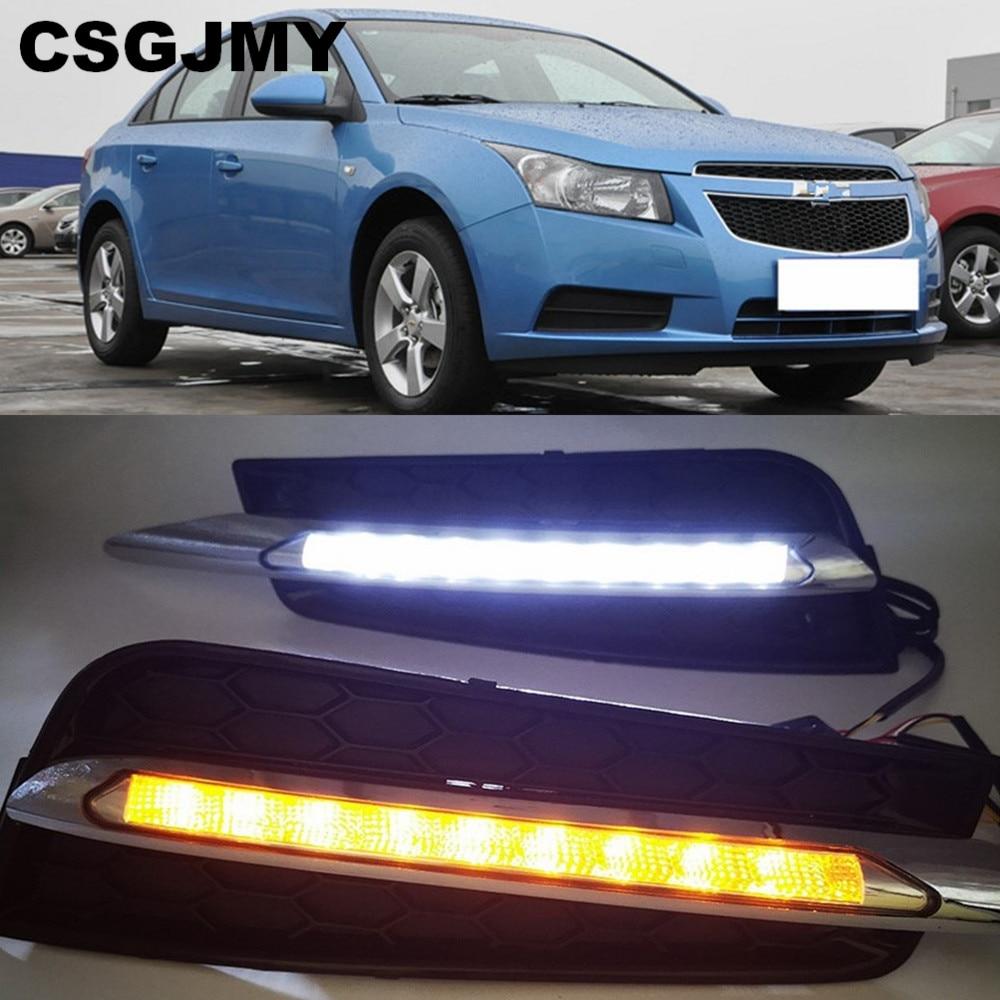 Car flashing for chevrolet cruze 2009 2010 2011 2012 2013 2014 DRL Driving Daytime Running Light