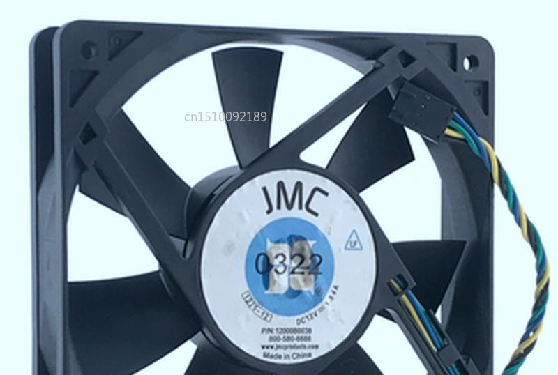 Free Shipping For JMC / DaTech 1225-12 12000B0038 DC 12V 1.84A 120x120x25mm 4-wire Server Cooler Fan