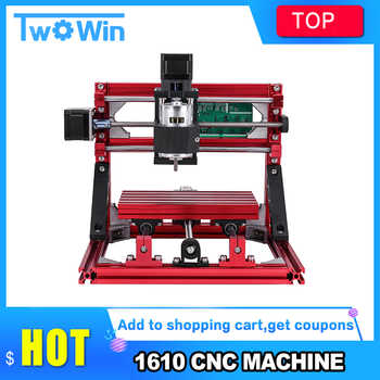 CNC 1610with ER11 ,diy cnc engraving machine,mini Pcb Milling Machine,Wood Carving machine,cnc router,cnc1610,best Advanced toys - DISCOUNT ITEM  35% OFF Tools