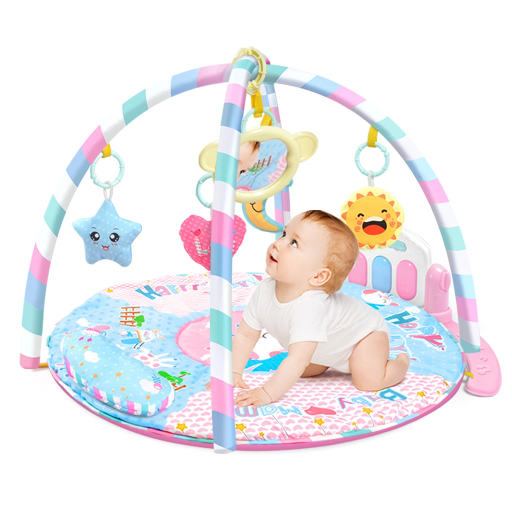 New Baby Mat Baby Game Blanket Toy Baby Pedal Piano Fitness Toys
