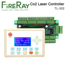 FireRay CO2 Laser Controller System TL-302 Stop Making for Laser Cutting and Laser Engraving Machine ruida rd rdlc320 a co2 laser dsp controllerr rd320a co2 laser controller use for laser engraving and cutting machine