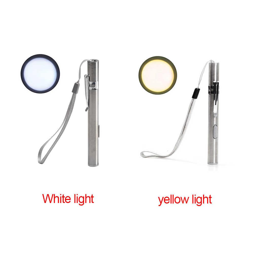 8000Lumens Portable Super Bright Led USB Rechargeable Pen Pocket Torch Lamp