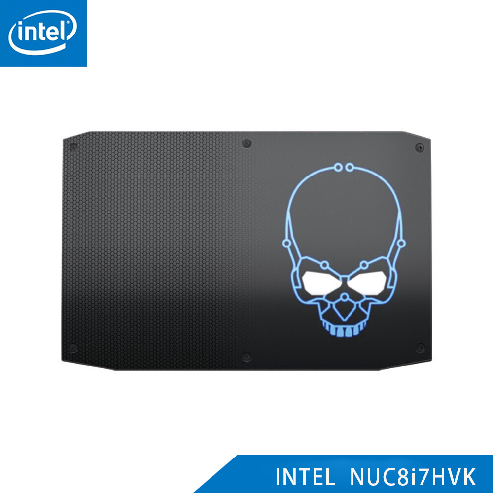 Original Intel NUC 8i7HVK Hades Canyon Core I7-8809G Mini PC Windows 10 4K UHD AMD Radeon Office Gaming Mini Desktop Computers