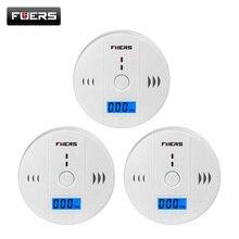 Fuers 3Pcs Gas Detector Sensor Koolmonoxide Alleen Werken 85db Sirene Geluid Onafhankelijke Koolmonoxide Detectoren Co Sensor