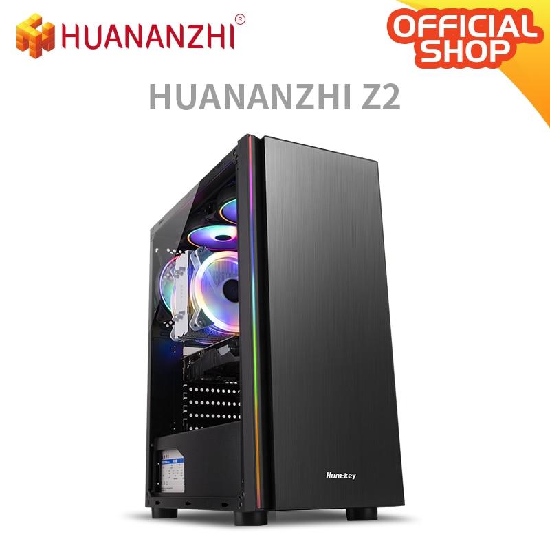 HUANANZHI Z2 Gaming E5 ordinateur de bureau cpu 2689 DDR3 2*16G carte de jeu GTX 1050TI 4G SSD 480G haute performance PC de jeu