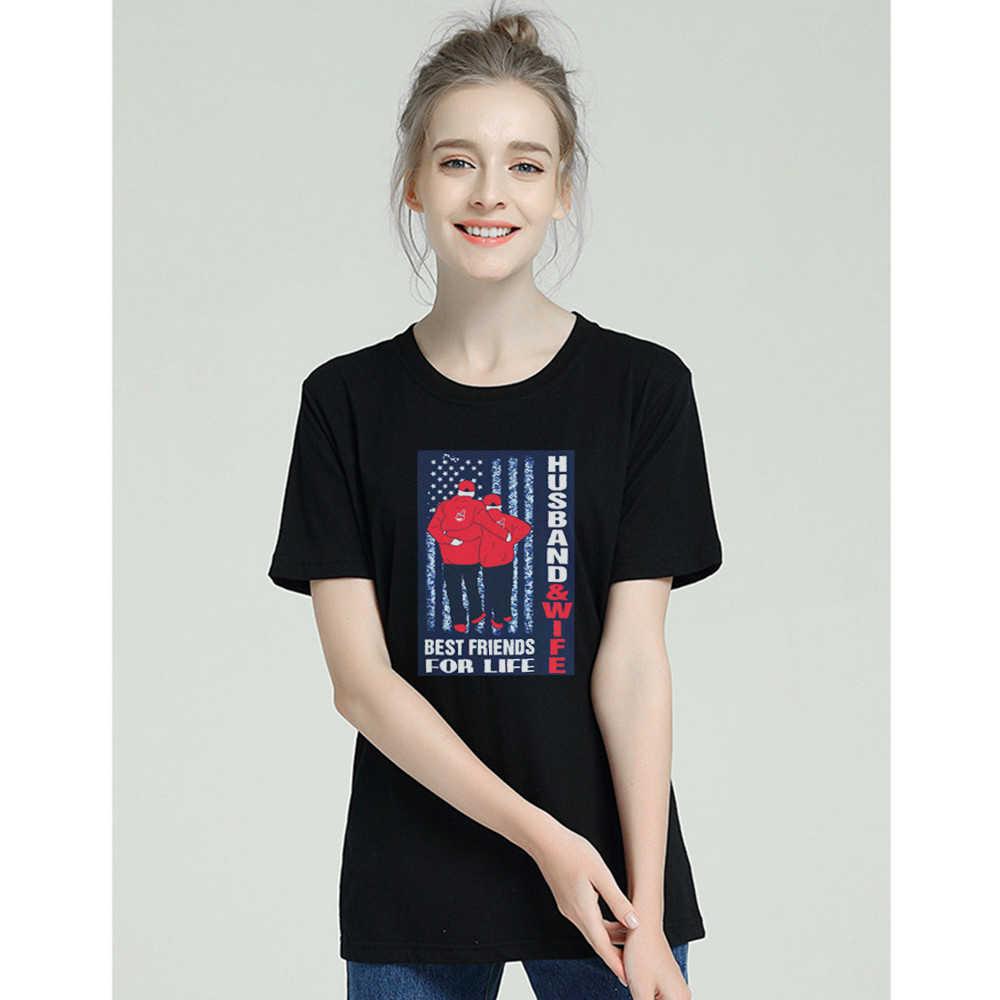 2019 модная футболка с короткими рукавами для женщин, лучший друг, жизнь Харадзюку, эстетика, хлопковые повседневные футболки с круглым вырезом, футболка для пары