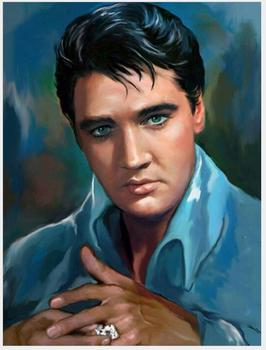 elvis diamond painting full drill men presley diamand embroidery sticker diy diamant mosaic picture puzzle diamond dotz craft image