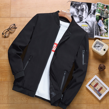 Mens Jacket 2019 Spring and Autumn New Trend Korean Casual Men Winter