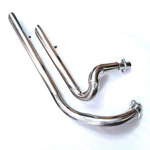Image 2 - Motorcycle Exhaust Pipe Aerofluxus Vent Pipe with Silencer Muffler For Honda STEED 400 600 VLX600 VLX400 STEED400 STEED600