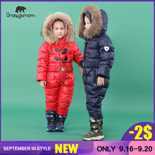 2019 Orangemom official store winter Childrens Clothing down boys clothing , kids outerwear & coats for Girls jackets snow wear