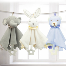 Soft Plush Stuffed Towels Toys For Newborns 0 12 Months Baby Soft Plush Toy Infant Toddlers Sleep Toys Girl Plush Rattle Teether
