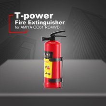 T-power 1/10 Fire Extinguisher Simulation RC Rock Crawler Accessory for RC4WD цена