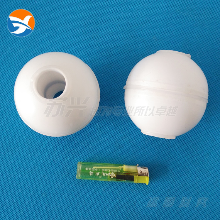 Float Switch Liquid Level Transmitter Accessories PTFE Polytetrafluoroethylene Acid And Alkali Magnetic Hollow Float