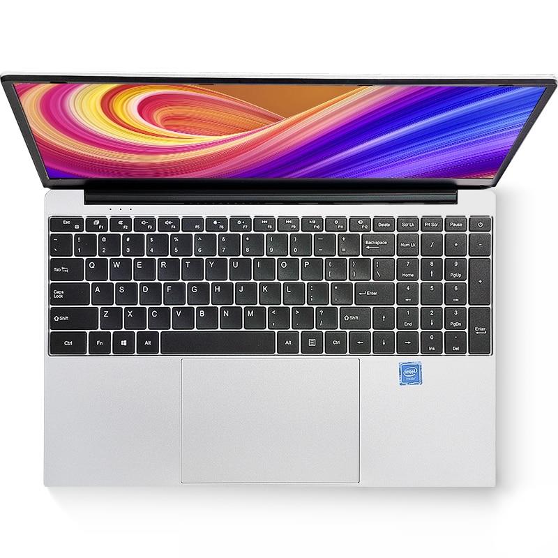 AMOUDO 15,6 дюймов 1920*1080 ноутбук с системой Windows 10 Intel J3160 четырехъядерный 8 Гб ram до 512 ГБ SSD ноутбук с полной раскладкой клавиатуры