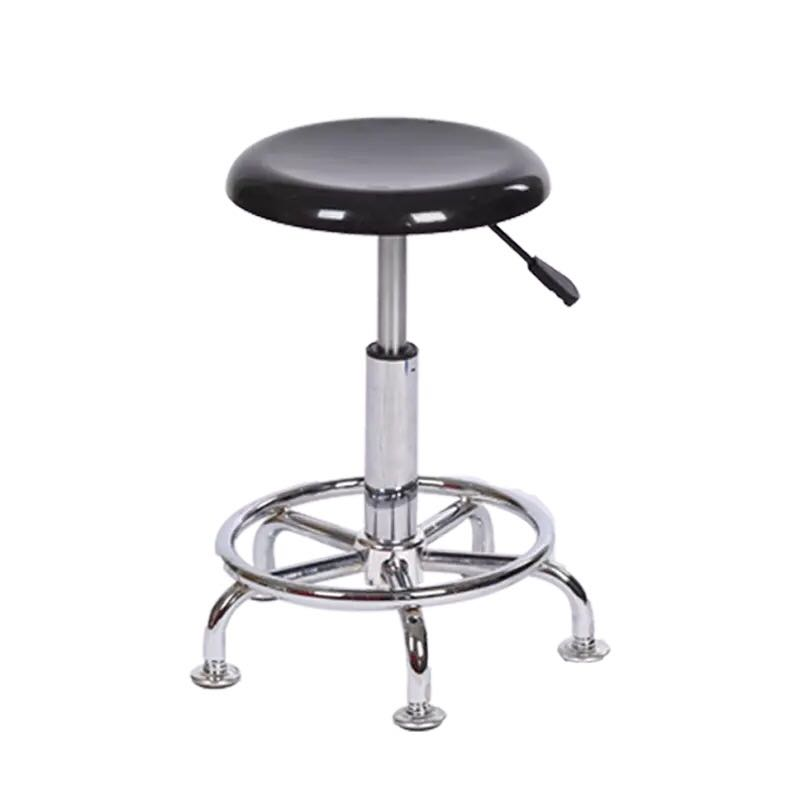 FRP Lifting Rotary High Stool School Lab Chair Factory Workshop Assembly Line Staff Operating Stool