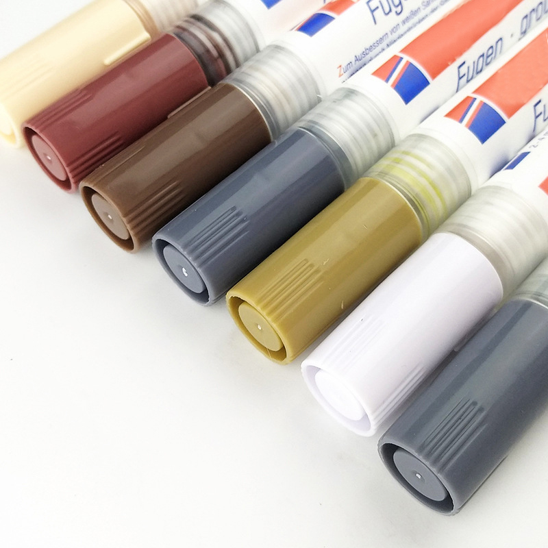 Tile Grout Coating Marker Wall Floor Ceramic Tiles Gaps Professional Repair Pen DTT88