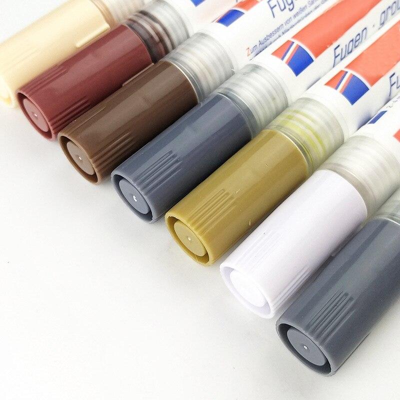 Tile Grout Coating Marker Wall Floor Ceramic Tiles Gaps Professional Repair Pen DTT88