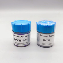 1 PCS 10g HY510/610/710 CPU Thermal Grease Compound Paste Heat Conductive Silicone Paste
