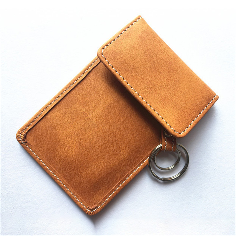 Image 5 - New Leather Signal Blocking Keyless Entry Car Key RFID Cover Pouch Case Bag 1Pc True leather double deck car shielded key pack-in Key Case for Car from Automobiles & Motorcycles