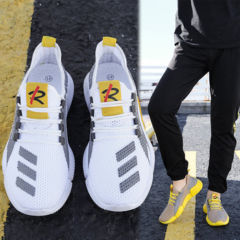 Hot Sale Four Seasons Running Shoes Men Lace-up Athletic Trainers Zapatillas Sports Shoes Men Outdoor Walking Sneakers hot sale four seasons running shoes men lace up athletic trainers zapatillas sports male outdoor walking large size sneakers