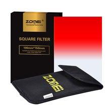 Zomei 150Mm X 100Mm Afgestudeerd Vierkante Filter Kit 7 Kleuren Voor Cokin Z Pro Serie Zomei Vierkante filter Gnd Afgestudeerd Grijs Nd Filters