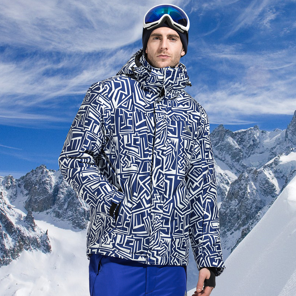 Лыжные куртки VECTOR для мужчин, водонепроницаемые, ветрозащитные, теплые зимние куртки для сноуборда, уличная одежда для катания на лыжах ...