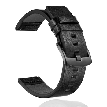 Replaceable Watchbands for HUAWEI WATCH GT 2 46mm/GT Active 46mm/HONOR Magic Genuine leather Strap Band GT2 Bracelet 22mm watch strap for huawei honor magic watch 2 gt 2 46mm gt 42mm genuine leather band silicone bracelet watchbands ремешок