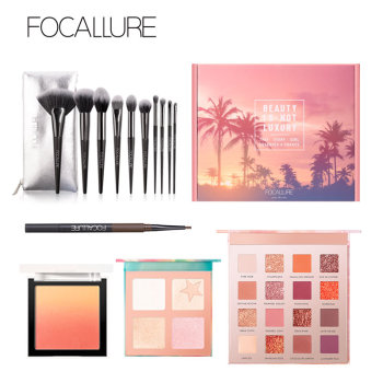 FOCALLURE Professional Make Up Box Hot Sales Product Makeup Gift For Women Beauty and Health Makeup and Sets