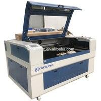 Robotec 9060 1390 1325 80 w 100 w 150 200 máquina de corte a laser co2 com tubo do laser reci máquina de gravura a laser para mdf acrílico