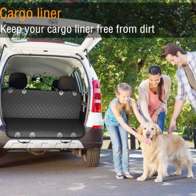 NEW Dog Car Seat Cover 100% Waterproof Pet Dog Travel Mat Mesh Dog Carrier Car Hammock Cushion Protector 6