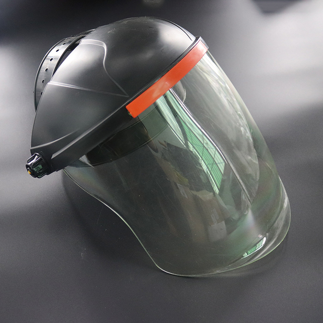 Anti-Saliva Dustproof Mask Transparent PVC Safety Faces Shields Screen Spare Visors For Head Eye Protection dust mask 1